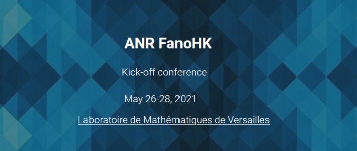 ANR FanoHK – conférence de lancement